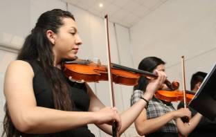 Orquesta de cuerdas del IA festeja 150 años de UAEH 3