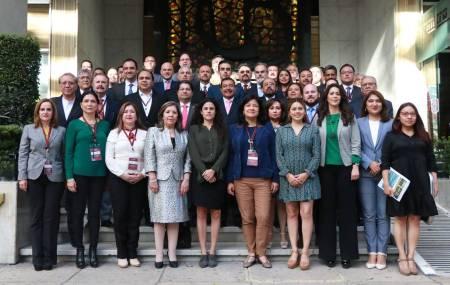 Participa STPSH en reunión de titulares de secretarías del trabajo 1