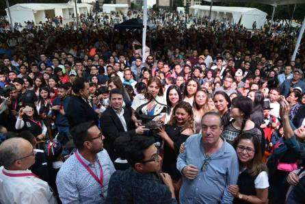 Pasa Hidalgo estafeta de Encuentros de Ciencias, Artes y Humanidades a Cuajimalpa de Morelos4
