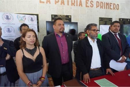 Presentan agenda legislativa diputado Víctor Osmind Guerrero Trejo e integrantes de la Alianza Hidalguense Ambiental