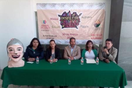 Primer Desfile de Carnaval en el Pueblo Mágico del Chico