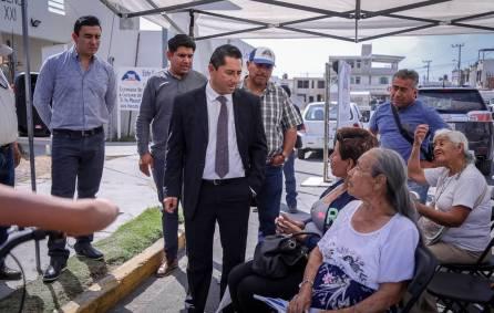 """Programa municipal """"Acciones por tu colonia"""" presente en La Providencia 1"""