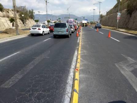 Realiza SOPOT colocación de bolardos bulevar Nuevo Hidalgo1