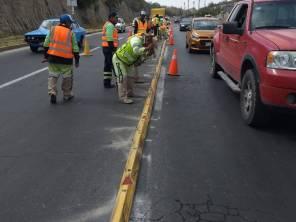 Realiza SOPOT colocación de bolardos bulevar Nuevo Hidalgo2