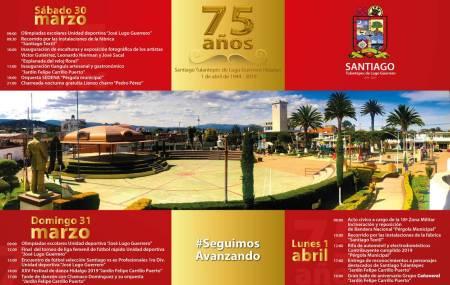 Santiago Tulantepec celebrará 75 años de creación1