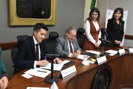 Signan convenio Congreso de Hidalgo y Contraloría del estado en materia de uso de tecnología informativa2
