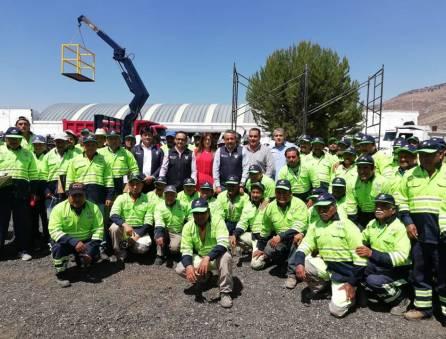 SOPOT entrega uniformes a residencias de conservación de carreteras 4