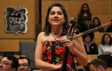 Suenan fuerte obras de Gina Enríquez con OSUAEH3