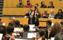 Suenan fuerte obras de Gina Enríquez con OSUAEH4
