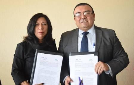 UPMH firma convenio de colaboración con la Universidad Tecnológica 1