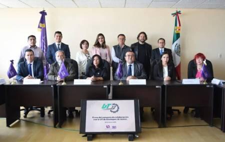 UPMH firma convenio de colaboración con la Universidad Tecnológica 2
