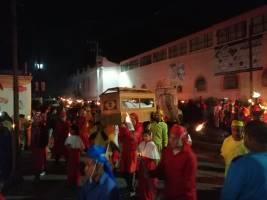 Activa participación en actividades religiosas de Semana Santa en Tolcayuca