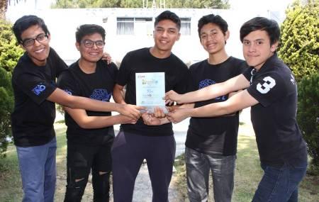 Alumnos de UAEH representarán a México en Mundial de Robótica1