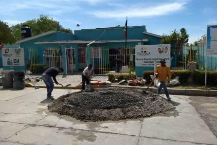 Ayuntamiento de Tolcayuca mejora la infraestructura de CAIC2