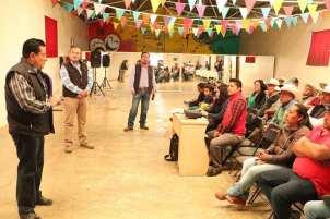 Capacitan a autoridades de comunidades y ejidos de Almoloya