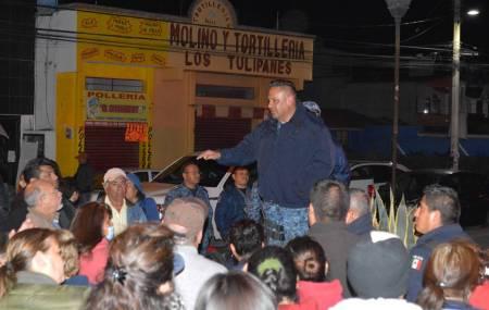 Celebra Policía Estatal reunión de prevención con vecinos de Mineral de la Reforma