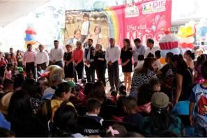 Celebran a más de 20 mil niñas y niños de Tizayuca