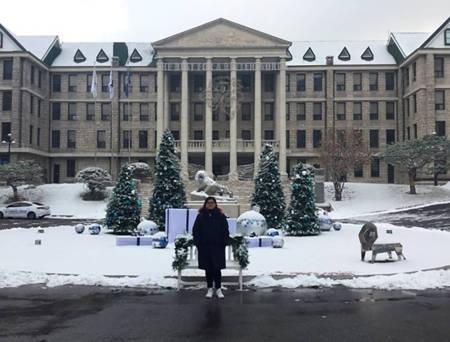 Comparte alumna de UAEH experiencia en el extranjero