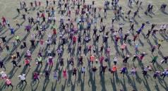 Conmemoran Día Mundial de la Activación Física con mega clase4