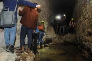 Conoce el área de túneles de la Ruta Arqueológica Minera de Pachuca