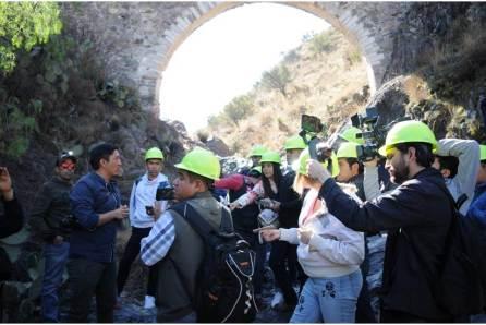 Conoce el área de túneles de la Ruta Arqueológica Minera de Pachuca2