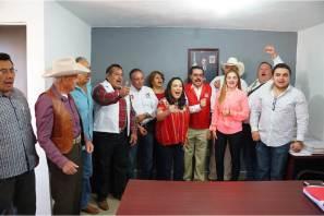 En este partido político el único grupo se llama el Revolucionario Institucional, Erika Rodríguez
