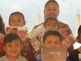 """Estudiantes de la Primaria """"Justo Sierra"""", de la comunidad de Tenexco recibieron su gaceta de Cazador@s de Saberes3"""
