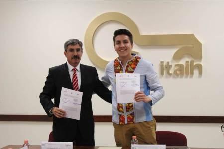 Firma convenio ITAIH con la Contraloría de Hidalgo para el uso de Declaranet
