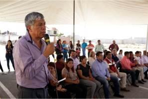 Gabriel García Rojas realiza gira de trabajo por una de las comunidades más vulnerables de Tizayuca