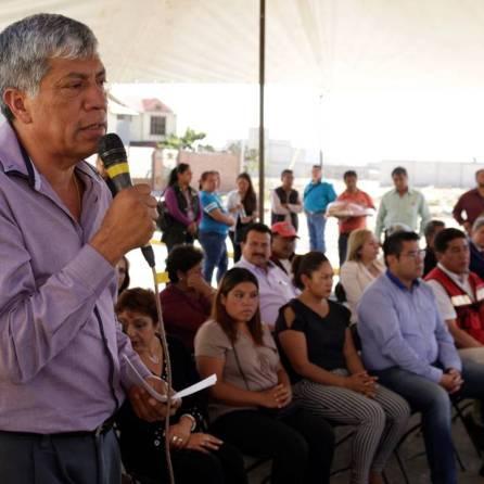 Gabriel García Rojas realiza gira de trabajo por una de las comunidades más vulnerables de Tizayuca1