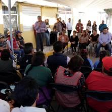 Gabriel García Rojas realiza gira de trabajo por una de las comunidades más vulnerables de Tizayuca2