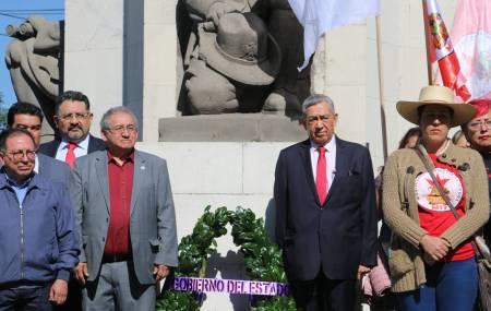 Gobierno de Hidalgo encabeza guardia de honor por el 100° aniversario luctuoso del General Emiliano Zapata1