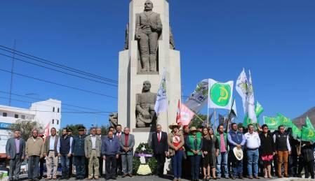Gobierno de Hidalgo encabeza guardia de honor por el 100° aniversario luctuoso del General Emiliano Zapata2