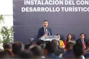 Hidalgo es referente internacional en materia turística, Omar Fayad