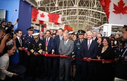 Inauguran Feria Aeroespacial México 2019-1