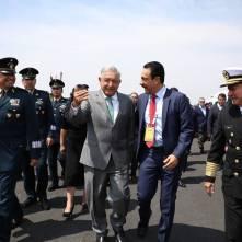 Inauguran Feria Aeroespacial México 2019-2