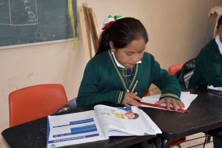 La SEPH realiza acciones para fortalecer la lectura y la escritura en estudiantes de educación básica