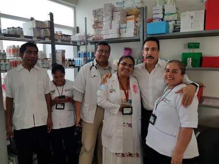 Permanente monitoreo de abasto de medicamentos en hospitales y centros de salud