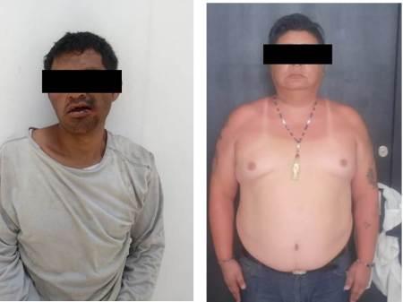 Policía de Tizayuca detiene a dos imputados en probables delitos