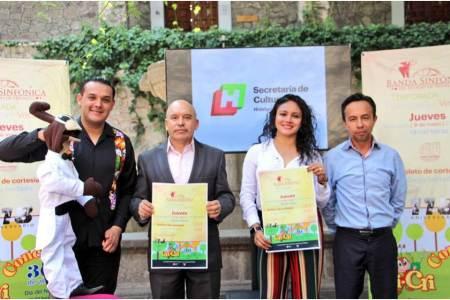 Presenta Cultura Hidalgo actividades de la Banda Sinfónica del Estado de Hidalgo2
