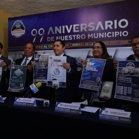 Presenta Raúl Camacho, programa de actividades en el marco del 99 Aniversario del Decreto de creación de Mineral de la Reforma2
