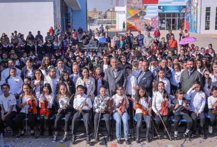 """Presentan en CEMART los proyectos """"Voces del Centenario"""" y la """"Orquesta Infantil y Juvenil Centenario de Mineral de la Reforma""""5"""