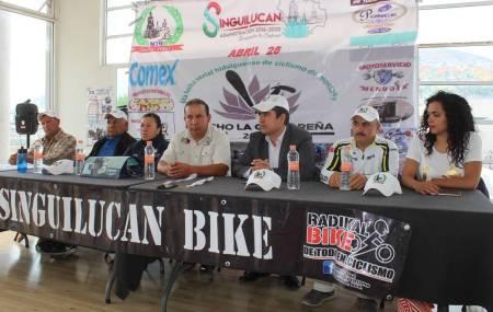 Presentan sexta fecha del Serial Hidalguense de Ciclismo de Montaña 1