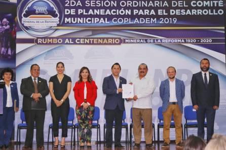 Realiza Mineral de la Reforma su 2Segunda Sesión de Copladem4