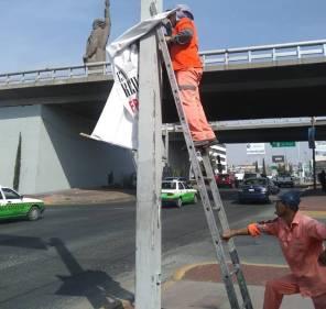 Realiza SOPOT trabajos de limpieza en distribuidor vial Miguel Hidalgo3