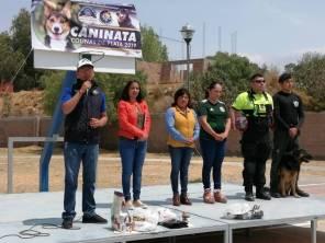 Realizan Primer Caninata Colinas de Plata 2019, para la promoción del bienestar animal en Mineral de la Reforma1
