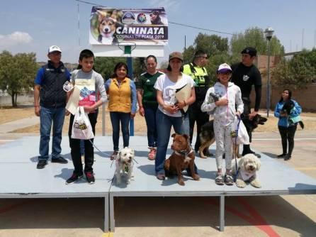 Realizan Primer Caninata Colinas de Plata 2019, para la promoción del bienestar animal en Mineral de la Reforma2