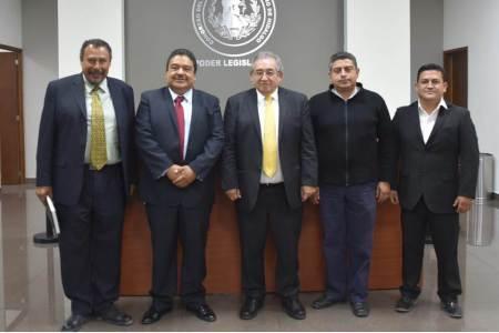 Recibe Congreso de Hidalgo a Gran Logia De Masones en la entidad