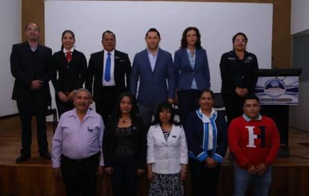 Rinde protesta Consejo de Apoyo y Gestión del Geoparque de la Comarca Mineral de la Reforma en el marco del 99 Aniversario del municipio2