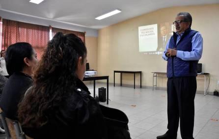 Secretario Atilano Rodríguez visitó escuela y participó en Sesión de los Consejos Técnicos Escolares 2